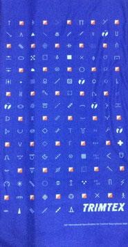 【限定】TRIMTEX  オリジナルチューブバンダナ(ブルーパープル)
