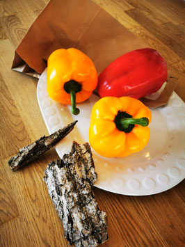 Paprika rot/gelb 500g (ca. 2 Stück)