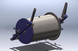 Schleuse Durchmesser 400mm Länge 600mm