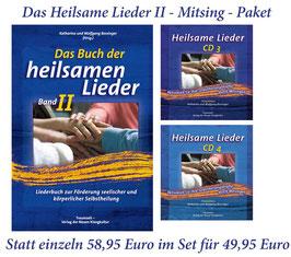 Sparpaket: Buch der heilsamen Lieder Band 2 und Heilsame Lieder CD 3 und CD 4