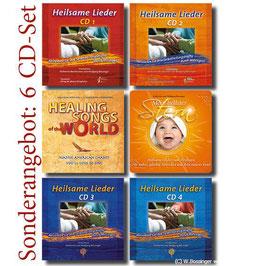 Komplettpaket 6 CDs für Heilsames Singen