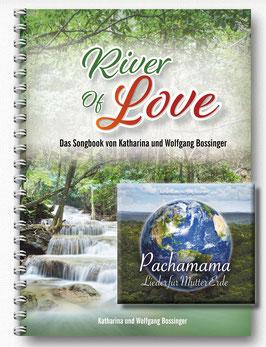 """Pachamama-CD + Liederbuch """"River of Love"""" (enthält die Noten aller Stücke der CD Pachamama)"""