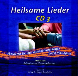 Heilsame Lieder CD 3