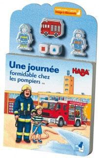 Une journée formidable chez les pompiers /Haba