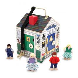 Maison en bois à sonnettes /Melissa&Doug
