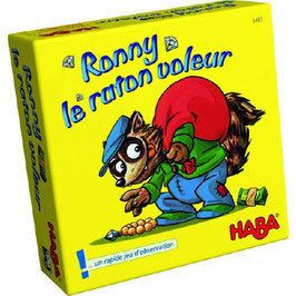 Ronny le raton Voleur /Haba