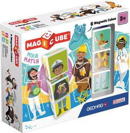 Mix & Match 6 cubes