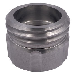 Adapter für Kanister zu S60x6 AG Aluminium