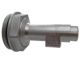 Auslaufhahn für Stahlfass 15mm Edelstahl