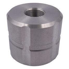 """Adapter für IBC S60x6 auf 1"""" IG Aluminium"""