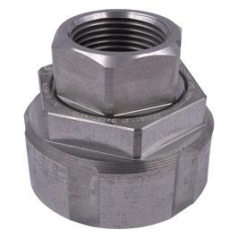 "Drehverschraubung S60x6 auf 1"" IG Aluminium"