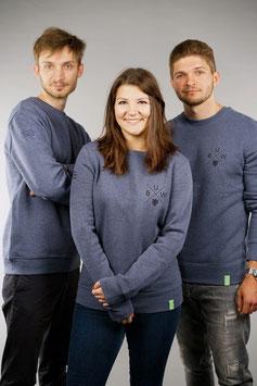 Sweatshirt Unisex jeansblau   BUW