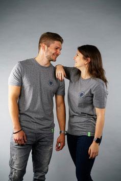 T-Shirt Unisex hellgrau   Siegel