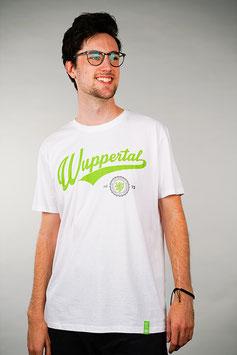 T-Shirt Herren weiß   Wuppertal