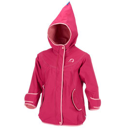 Finkid Regenjacke LOKKI persian red/dusty rose 90/100