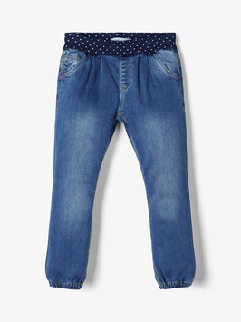 Name it Jeans Medium Blue Punkte Bündchen