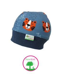 "Bündchen Beanie ""Tiger atlantic orange"""