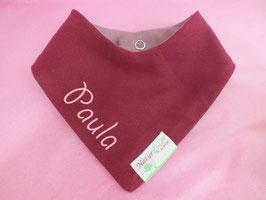 Wendehalstuch Jeans beere, Name rosa