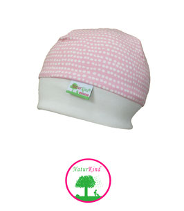 "Bündchen Beanie ""Dottie Line strawberry"""