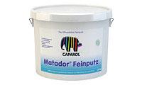 Caparol Matador Feinputz 20KG emissionsminimierter, lösemittelfreier, hoch sorptions- und diffusionsfähiger Mineralputz