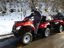 Snow ATV Tour for driver only!