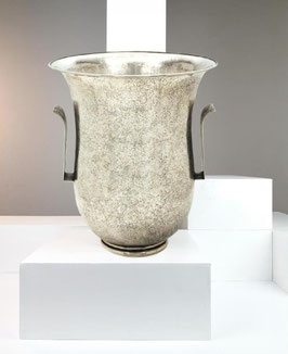 Luigi Genazzi Sterling Champagne cooler, Italy, circa 1930