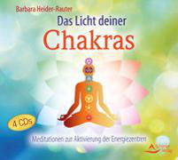 4 CD's, das Licht deiner Chakras, Barbara Heider-Rauter