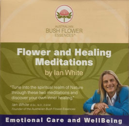 CD Flower and Healing Meditations by Ian White