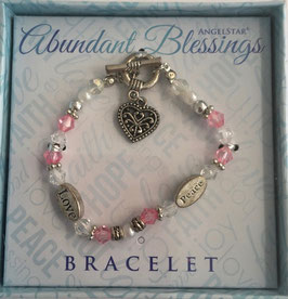 Armband Abundant Blessings, love and peace