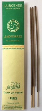 Lemongrass / Relax on Earth, Faircense Räucherstäbchen