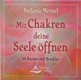 Kartenset Mit Chakren deine Seele öffnen, Stefanie Menzel