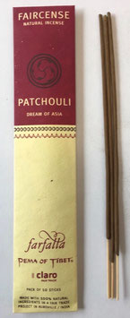 Patchouli / Dream of Asia, Faircense Räucherstäbchen