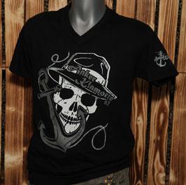 Skull V Black