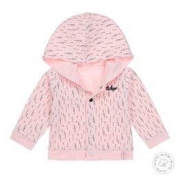 Dirkje Bio Cotton Jas Roze Reversible