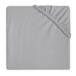 Jollein Hoeslaken Jersey 60x120 cm Soft Grey