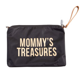 Childhome Mommy's Treasures Clutch - Zwart Goud