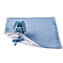 Nattou Knuffeldoek 50 X 50 Lapidou Blauw