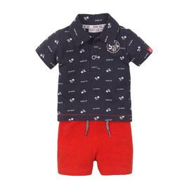 Dirkje 2 pce babysuit shorts Boys