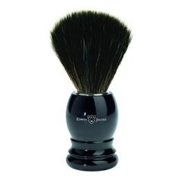 EJ Shaving Brush, Synthetic, Ebony