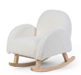 Childhome Schommelstoel Voor Kinderen - Teddy - Ecru Naturel