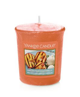 Grilled Peaches & Cream Votive