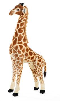 Childhome Staande Giraf Knuffel - 50x40x135 Cm - Bruin Geel