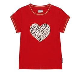 Vinrose T-Shirt Leopard Hearts
