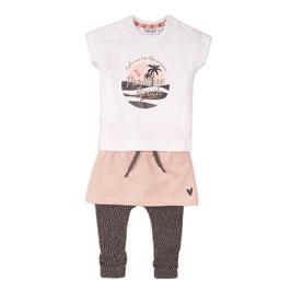 Dirkje 3 pce babysuit skirt