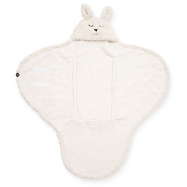 Jollein Wikkeldeken Bunny Off-White