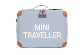 Childhome Mini Traveller Kinderkoffer - Grijs Ecru