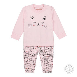Dirkje Bio Cotton Pyjama Roze