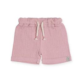 Jollein Short Cotton Wrinkled Pink