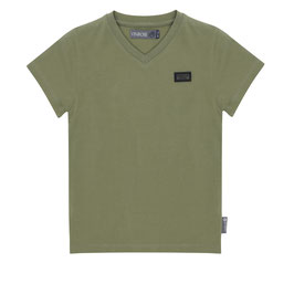 Vinrose T-shirt Oil Green