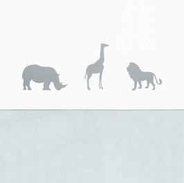 Jollein Laken 75x100 cm Safari Stone Grey